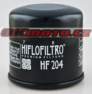 Olejový filter HIFLO FILTRO HF204 - Honda GL 1800 Gold Wing, 1800ccm - 01-16