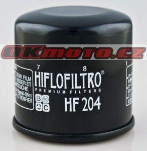 Olejový filter HIFLO FILTRO HF204 - Honda CB 1000 R, 1000ccm - 08-16