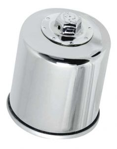 Olejový filter K&N KN-303C (Chrom) - Yamaha VMX1700 V-Max, 1700ccm - 09-16