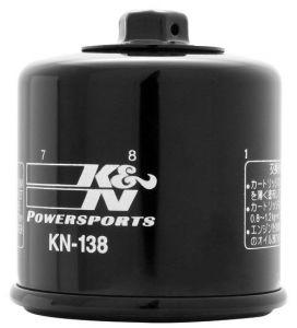Olejový filter K&N KN-138 - Suzuki GSX 1300 R Hayabusa, 1300ccm - 99-18
