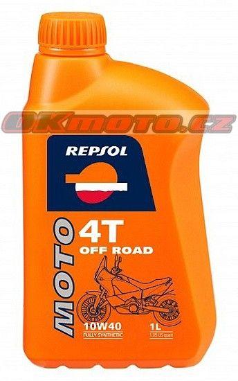 REPSOL - Moto Off Road 4T 10W40 - 1L REPSOL (Španělsko)