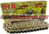 Reťaz DID - 520VX2 - X-ring - 100 článkov-zlatý