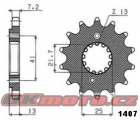 Reťazové koliesko SUNSTAR - Honda VT600 C Shadow, 600ccm - 88-07