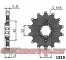 Reťazové koliesko SUNSTAR - Honda XL 600 R, 600ccm - 83>83