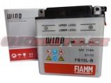 Motobatéria Fiamm FB10L-B, 12V, 11Ah