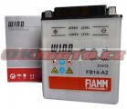 Motobatéria Fiamm FB14-A2, 12V, 14Ah