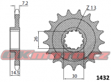 Reťazové koliesko SUNSTAR - BMW HP4, 1000ccm - 12-16