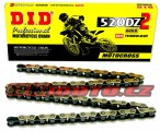 Reťaz DID - 520DZ2 - 116 článkov-zlatý