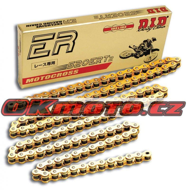 Reťaz DID - 520ERT2 - 118 článkov-zlatý D.I.D (Japonsko)