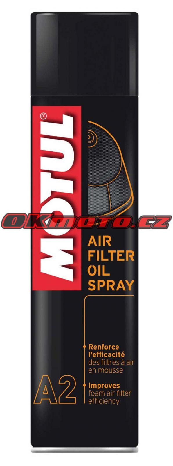 MOTUL - Air Filter Oil Spray (A2) - 400ml MOTUL (Francie)