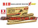Reťaz DID - 520ERV3 EXCLUSIVE RACING - X-ring - 114 článkov-zlatý