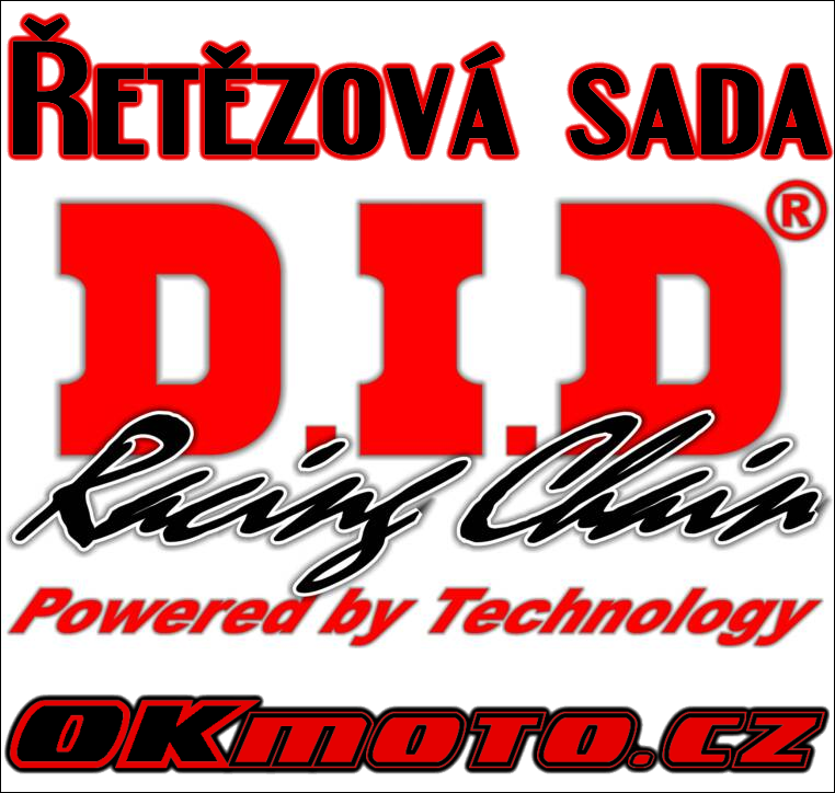 Reťazová sada D.I.D - 520V O-ring - Honda NC 750 X, 750ccm - 14-17 D.I.D (Japonsko)