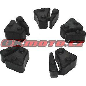 Tlmiace gumy do unášača rozety - Honda CBR 900 RR Fireblade, 900ccm - 92-99 TOURMAX - Japan