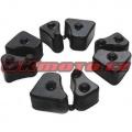 Tlmiace gumy do unášača rozety - Honda CBR 1100 XX Blackbird, 1100ccm - 97-07