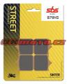 Predné brzdové doštičky SBS 870HS - BMW S1000R, 1000ccm - 14-18