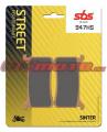 Predné brzdové doštičky SBS 947HS - Honda CBR 1000 RR, 1000ccm - 17-18