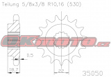 Reťazové koliesko ESJOT - Ducati 1260 Multistrada, 1260ccm - 18-19