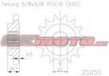 Reťazové koliesko ESJOT - Ducati 1260 S Multistrada, 1260ccm - 18-19