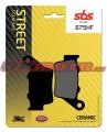 Zadné brzdové doštičky SBS 675HF - Yamaha Ténéré 700, 700ccm - 19-20