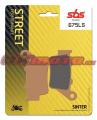 Zadné brzdové doštičky SBS 675LS - Yamaha Ténéré 700, 700ccm - 19-20