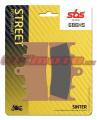 Predné brzdové doštičky SBS 686HS - Suzuki GSX 1300 R Hayabusa, 1300ccm - 99-07