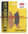 Predné brzdové doštičky SBS 694SI - Honda CR 125 R, 125ccm - 95-08