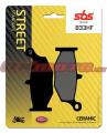 Zadné brzdové doštičky SBS 833HF - Suzuki GSX 1300 R Hayabusa, 1300ccm - 08-18