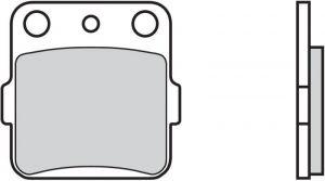 Predné brzdové doštičky Brembo 07HO2205 - Honda CR, 80ccm - 03>
