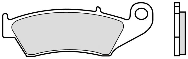 Predné brzdové doštičky Brembo 07KA1705 - Honda CR E, 250ccm - 02> Brembo (Itálie)