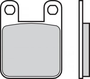 Zadné brzdové doštičky Brembo 07044 - Aprilia RS 50 ccm - 06>