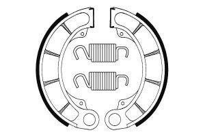 Zadné brzdové čeľuste SBS (Bendix) BA 198 - Honda Pantheon FES 150ccm - 98>02