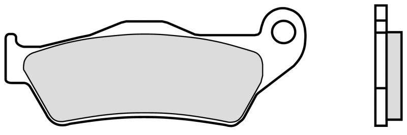 Predné brzdové doštičky Brembo - Yamaha Maxster 150ccm - 01> Brembo (Itálie)