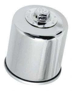 Olejový filter K&N KN-303C (Chrom) - Honda CB400 Super Four, 400ccm - 02>02
