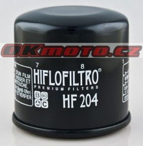 Olejový filter HifloFiltro HF204 - Honda CB600F Hornet, 600ccm - 03-13
