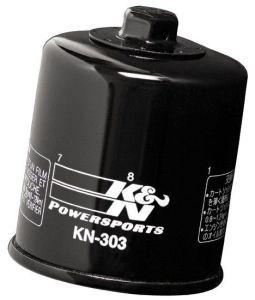 Olejový filter K&N KN-303 - Yamaha VMX1700 V-Max, 1700ccm - 09-16