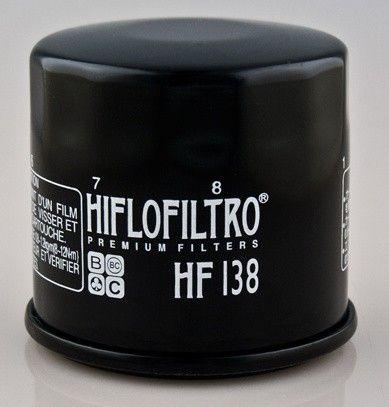 Olejový filter HIFLO FILTRO HF138 - Suzuki LT-A450X KingQuad, 450ccm - 07>10