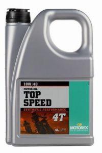 MOTOREX - Top Speed 4T 10W/40 - 4L
