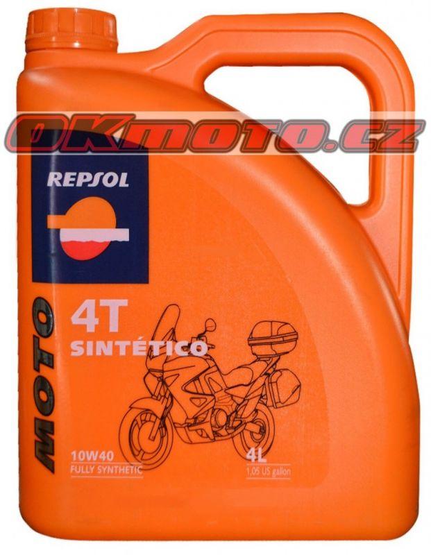 REPSOL - Moto Sintetico 4T 10W40 - 4L REPSOL (Španělsko)