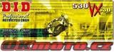 Reťaz DID - 530VX - X-ring - 102 článkov