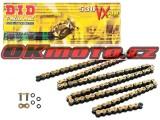 Reťaz DID - 530VX - X-ring - 104 článkov-zlatý