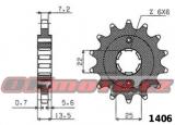 Reťazové koliesko SUNSTAR - Honda XL600 V Transalp, 600ccm - 87>88