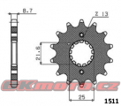 Reťazové koliesko SUNSTAR - Suzuki GSX1300 R Hayabusa, 1300ccm - 99-07