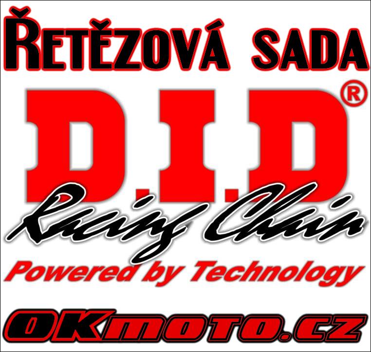 Reťazová sada D.I.D - 520VO O-ring - Kawasaki KLX 650 (C1-C4), 650ccm - 93>98 D.I.D (Japonsko)