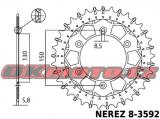 Reťazová sada D.I.D - 520ERVT GOLD X-ring - Yamaha YZ 125, 125ccm - 02>04 D.I.D (Japonsko)
