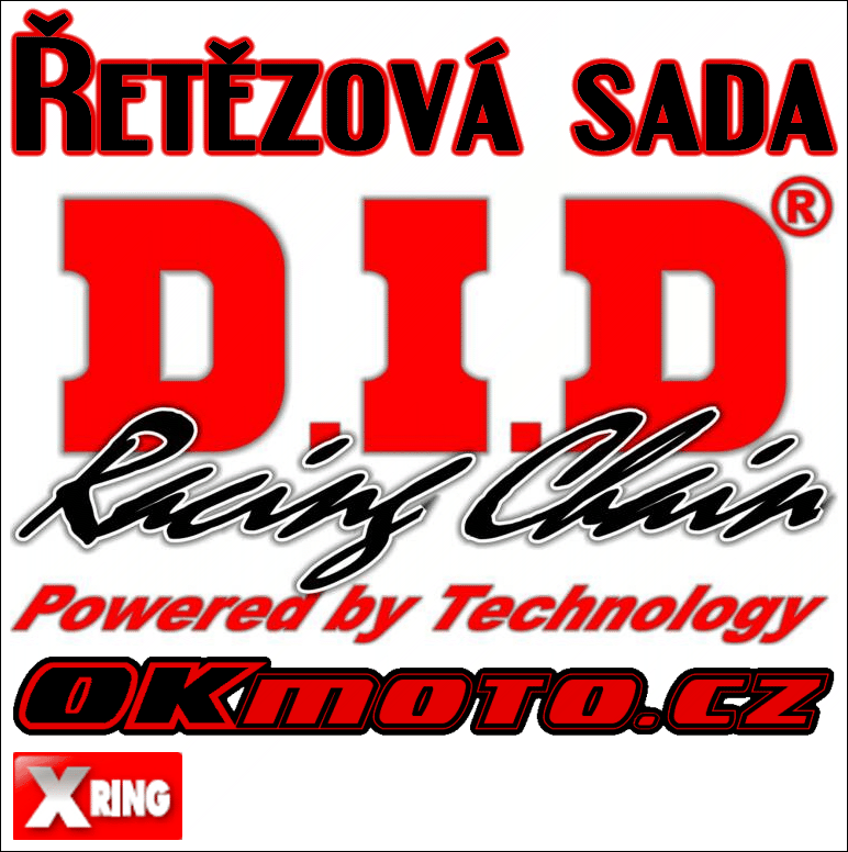 Reťazová sada D.I.D - 520VX3 X-ring - Honda CRF 250 X, 250ccm - 04>14 D.I.D (Japonsko)