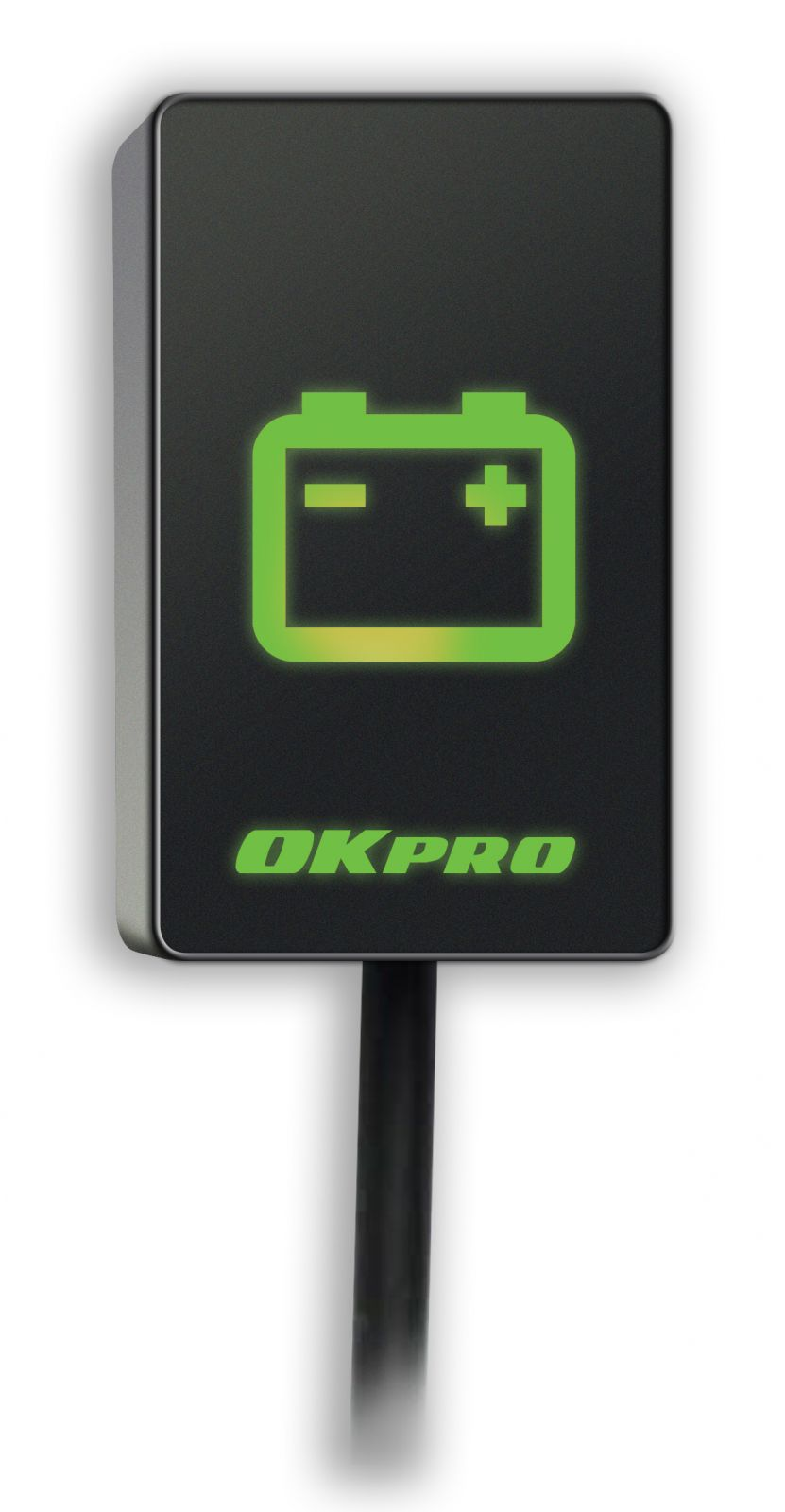 OKpro MCI-1 - Elektronický indikátor dobíjania pre motocyklov OKmoto Electronics
