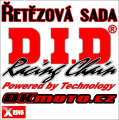 Reťazová sada D.I.D - 520VX3 X-ring - Yamaha YZ 250, 250ccm - 98-98