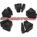 Tlmiace gumy do unášača rozety - Honda CBX 750 F, 750ccm - 84-86