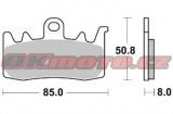 Predné brzdové doštičky Brembo 07BB3884 - Ducati 950 Multistrada, 950ccm - 17-18
