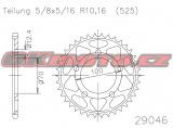 Rozeta Esjot - BMW HP4, 1000ccm - 12-16